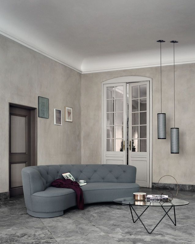 GUBI Pedrera Table And Pendant Images By