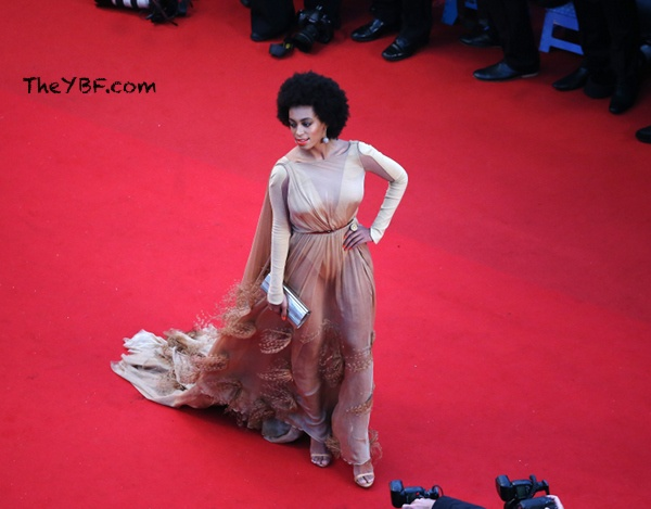 Solange knowles nude and naked thought differently