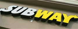"""For the month of December 2011, Subway is doing $2 for 6"""" subs on two of their sandwiches.  Subway calls this Customer Appreciation Month.  Thank you, Subway!  You make the short list of companies I prefer to give my business to."""