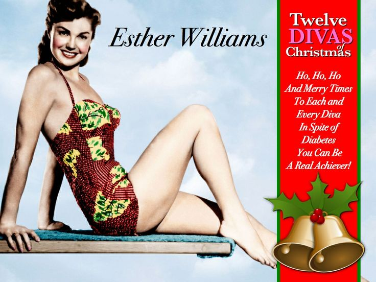 """""""The wisdom acquired with the passage of time is a useless gift unless you share it, """" says our seventh 'Diva of Christmas' Esther Williams. Esther Williams became one of the most famous swimmers in history without  participating the Olympics, because she found opportunities that were disguised in many obstacles that she confronted.  LISTEN NOW: Diabetes Roundtable Inspired by Esther Williams…"""