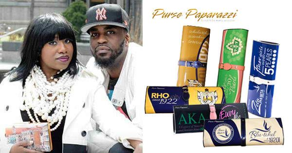 Black, Married, and… Entrepreneurs — Baltimore-based Power Couple Launches Custom Purse Line for Black Sororities & HBCUs!