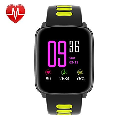 Smart Watch,Willful SW018 Bluetooth Smartwatch IP68 Waterproof Sport Fitness Watch with Heart Rate Monitor Pedometer Sleep Monitor SMS App Notice Alarm Clocks for iPhone IOS Android Phones 56.99  #1 #197,hundredths-inches,433,hundredths-inches,57,hundredths-pounds,315,hundredths-inches #Black #Green #Red #SW018 #Willful #WillfulDirect #WillfulDirect #WillfulDirect #WillfulDirect #Wireless...