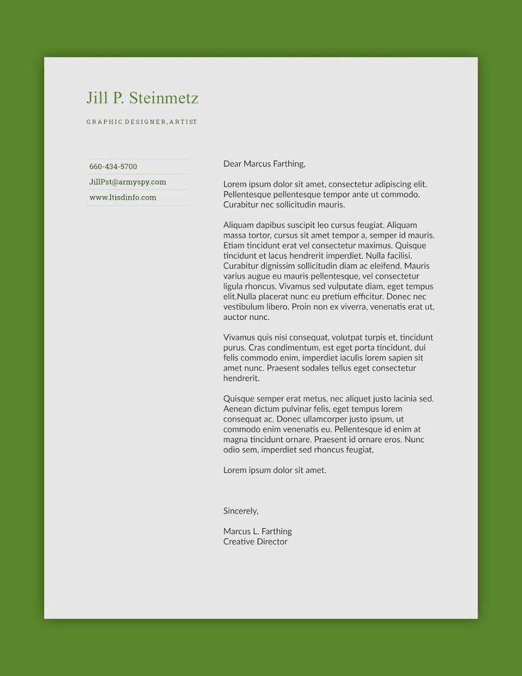 The 25+ best Free letterhead templates ideas on Pinterest Free - professional letterhead sample