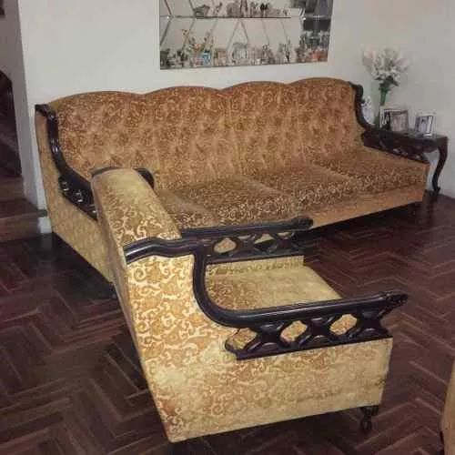 Mueble Ingles De Caoba- Venta Solo Por Viaje - S/. 5.000,00