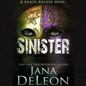 I finished listening to Sinister: Shaye Archer Series, Book 2 (Unabridged) by Jana DeLeon, narrated by Julie McKay on my Audible app. Try Audible and get it free.