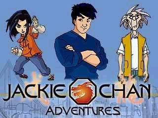 Jackie Chan Adventures. I loved this show. still watch it on netflix for background noise sometimes. teehee.