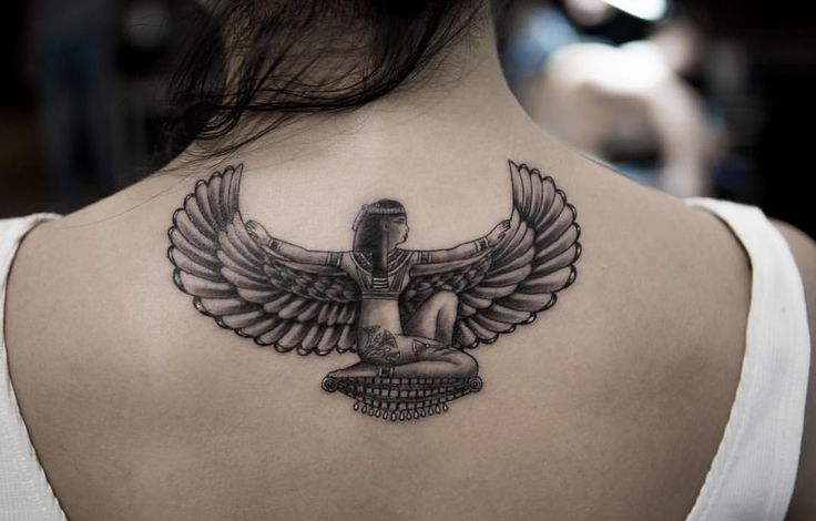 The goddess Isis from the other day! Thank you Amna.