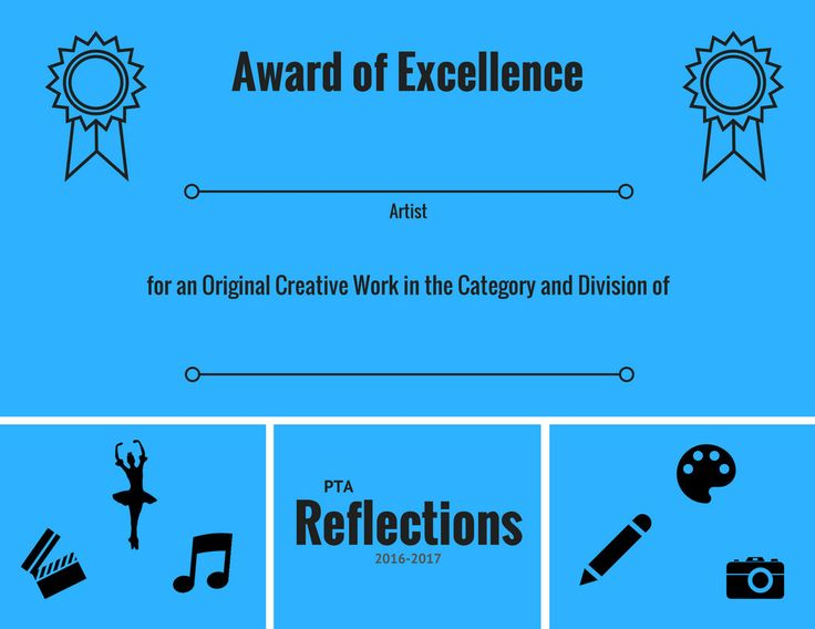 Pta reflections 2016 2017 certificate set awards of excellence pta reflections 2016 2017 certificate set awards of excellence merit participation ready to print art contest certificates by streamlinedlivin yadclub Gallery