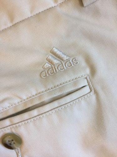 Men-039-s-Adidas-Pants-size-40-Beige-Golf-EUC
