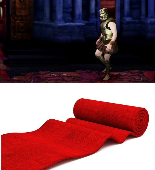 #CarpetFacts: A #RedCarpet is traditionally used to mark the route taken by important politicians and heads of #states.   In recent years, the privilege has been extended to #celebrities and #VIPs at formal events. The first reference to a #red #carpet is in the #ancient play #Agamemnon (458 B.C) by #Aeschylus.