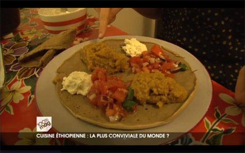 Ce soir vous avez pu me voir dans 100% Mag sur M6 dans le cadre d'un reportage sur la cuisine éthiopienne. Conviviale et savoureuse, la gastronomie de l'Ethiopie mérite d'être con…