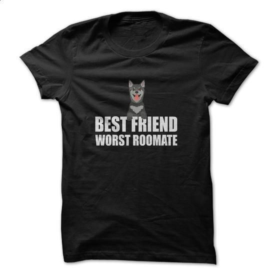 Best Friend Worst Roomate Great Gift For Any Dog Lover - #white shirt #casual shirts. MORE INFO => https://www.sunfrog.com/Pets/Best-Friend-Worst-Roomate-Great-Gift-For-Any-Dog-Lover.html?60505