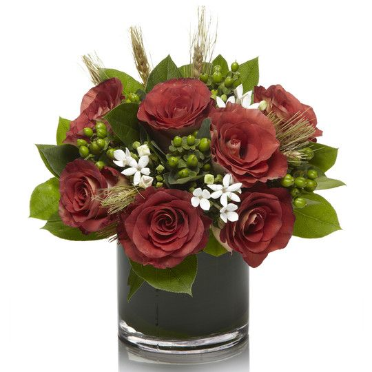 Love the idea of fresh flower arrangements every month!