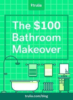 Bathroom Makeovers For Less meer dan 1000 ideeën over cheap bathroom makeover op pinterest