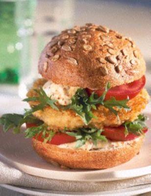 Saftiger Veggi-Burger Rezept-bulgur