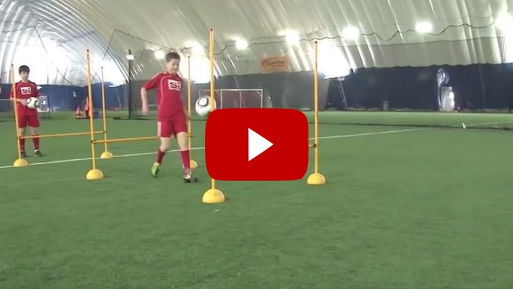Great U12 Soccer Drills, shooting and agility. Top Soccer Coach - the best soccer videos and articles on the web for soccer/football coaches.