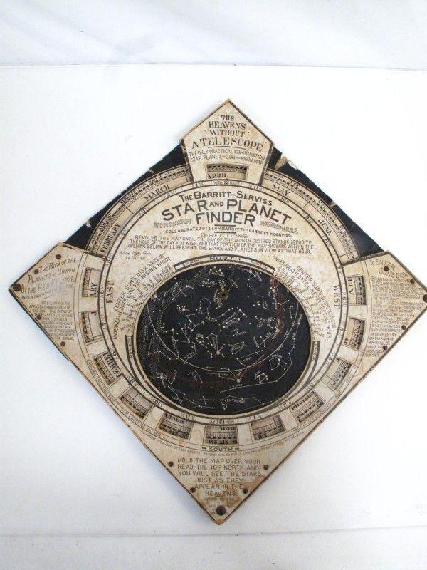 Antique Barritt-Serviss Star and Planet Finder - shopgoodwill.com