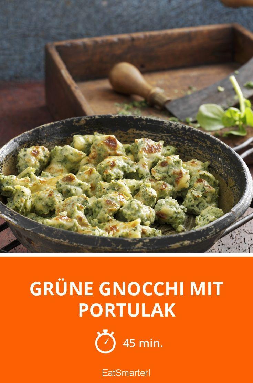 Grüne Gnocchi mit Portulak - smarter - Zeit: 45 Min.   eatsmarter.de