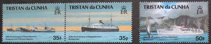 30th anniversary of resettlement of Tristan stamps, 1993, Tristan da Cunha, MNH