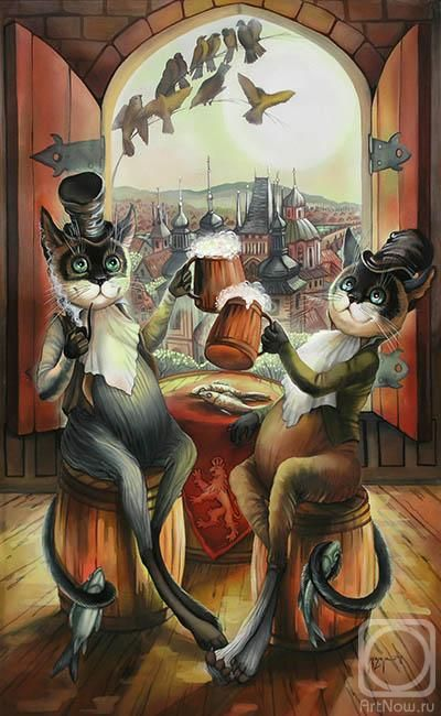 Квадратных открыток, картинки для декупажа смешные кошки