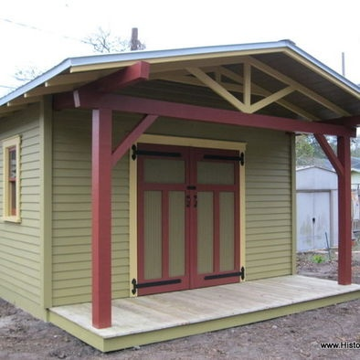639 best images about arts crafts mission style on for Craftsman style storage sheds