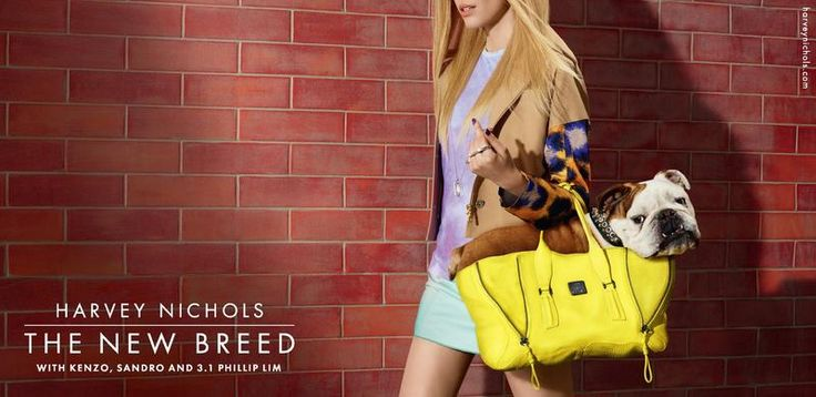 Harvey Nichols March 2013 The New Breed Campaign