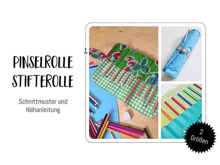 Nähanleitungen Taschen - Schnittmuster & Nähanleitung Pinseltasche /... - ein Designerstück von Kreativlabor-Berlin bei DaWanda