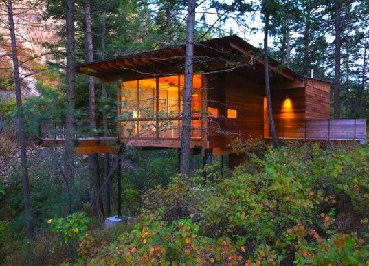 Flathead Lake Cabin by Andersson Wise Architects, Montana
