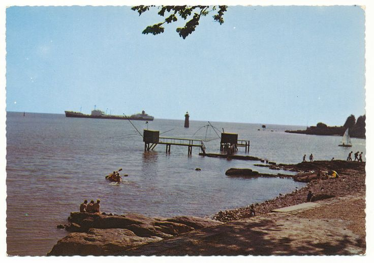 Icredibly Boring Postcards (1)  La Bretagne, Saint-Nazaire (Loire-Atlantique) La Pointe de Ville-es-Martin (early 1970s)