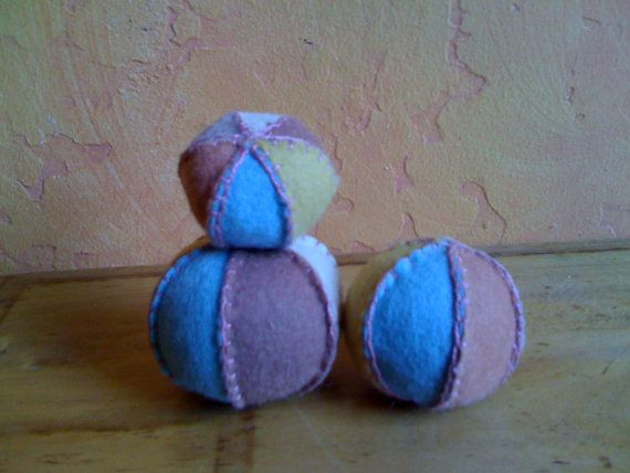 SALE Plant Dyed Wool Felt  Balls by HennyPennysJumble on Etsy, $9.00Felt Ball, Wool Felt, Waldorf Crafts, Plants Dyed, Sales Plants, Dyed Wool