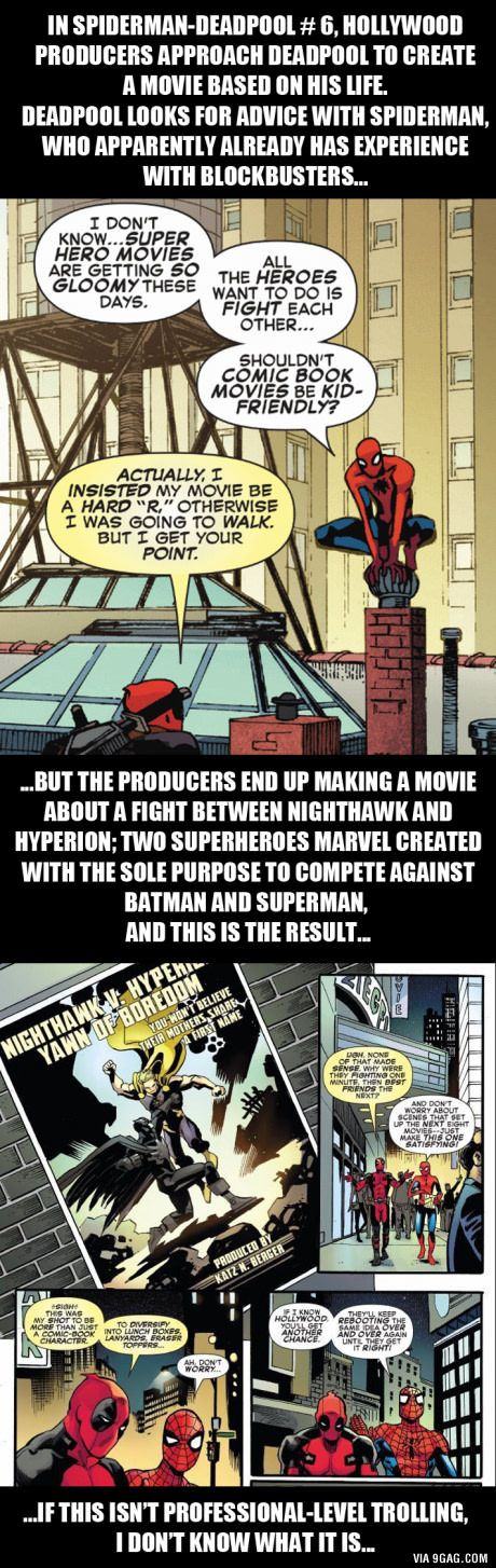 """I guess Batman V Superman is going to be the """"7-1"""" of the superhero movies"""