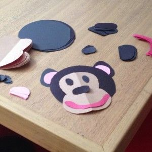 51 best Monkey crafts images on Pinterest