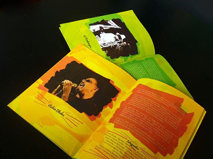 Catálogo / XVI Festival Salsa al Parque. Diseño editorial y diagramación: Oscar Zambrano.  Bogotá, 2013.