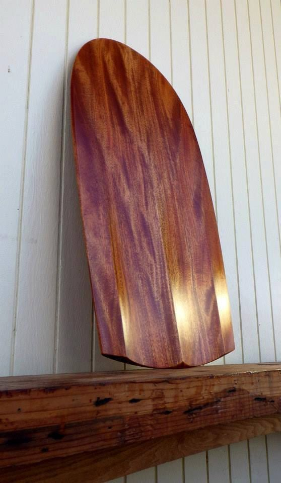 Handcarved Wooden Paipo by CACoastalWoodCraft on Etsy, $550.00