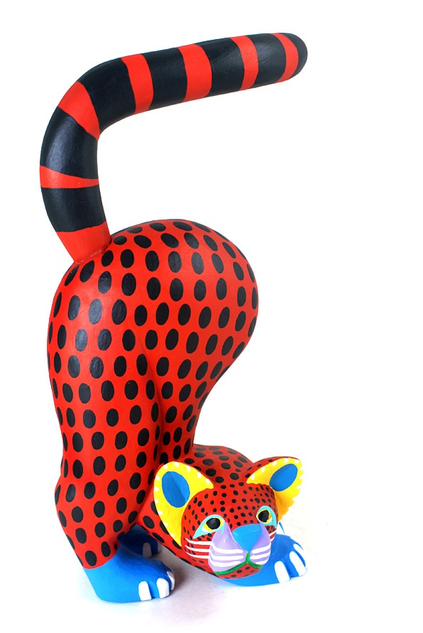 Oaxaca Wood Carvings Moises Jimenez Cat Ideas More Pins Like This At FOSTERGINGER @ Pinterest