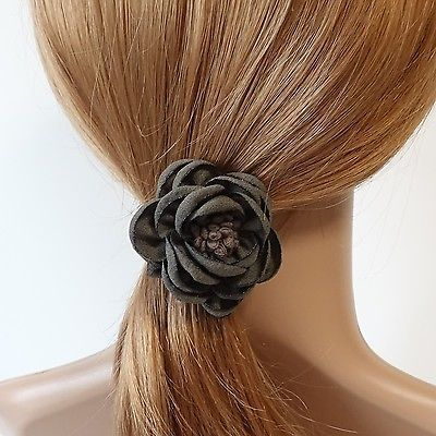 Handmade Pistil Flower Hair Elastics Ponytail Holder #veryshine #ponytailholder #hairelastic #ponytail