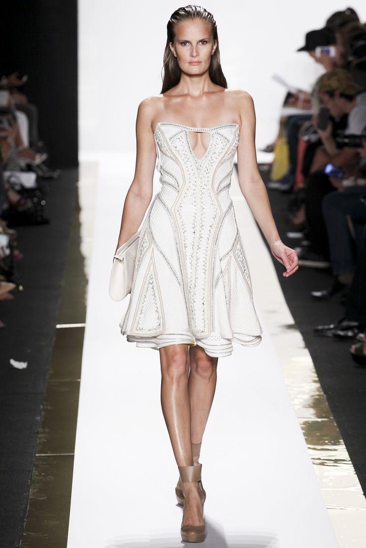 Sfilata Hervé Léger by Max Azria New York - Collezioni Primavera Estate 2014 - #Vogue #nyfw #ss2014 #HervéLéger by #MaxAzria
