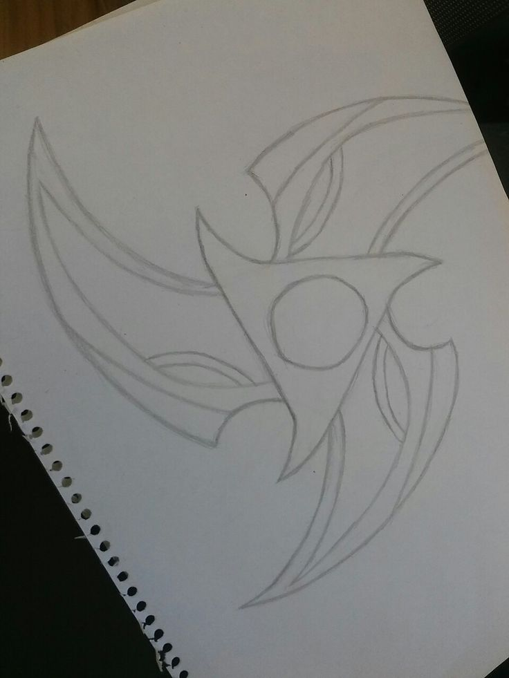 ...and here are Kennen's shuriken (by: me)