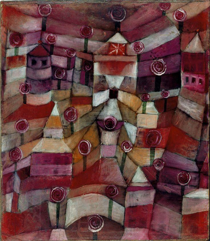 Paul Klee Poster - Rose Garden