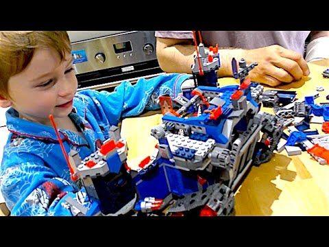 Лего космический замок с галактическими рыцарями