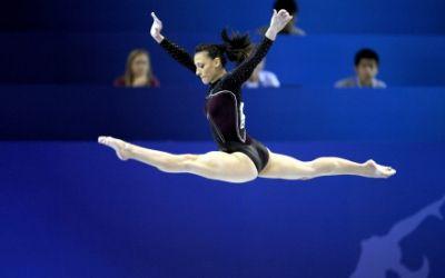 Cătălina Ponor - Romanian gymnastics olympic champion