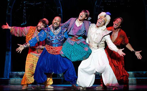 Set your magic carpets on a course for New York City: Disney's Aladdin is coming to Broadway in 2014.