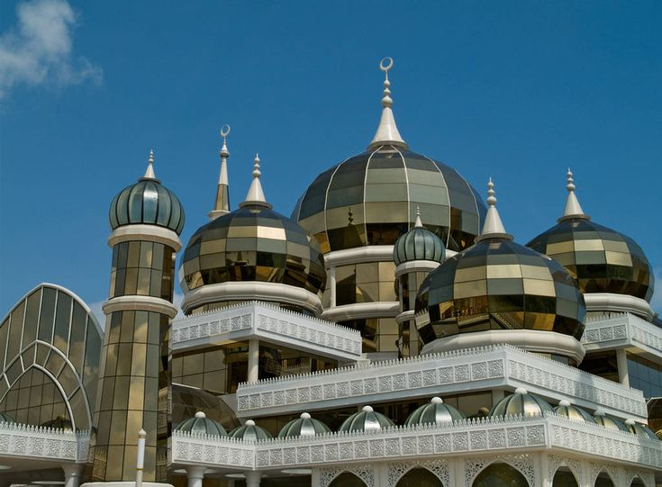 Crystal Mosque Malaysia Amazing Design