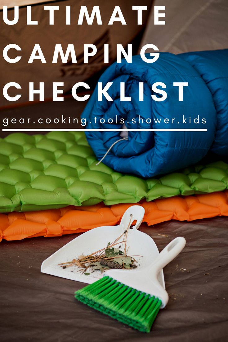 camping essentials #Campingchecklist