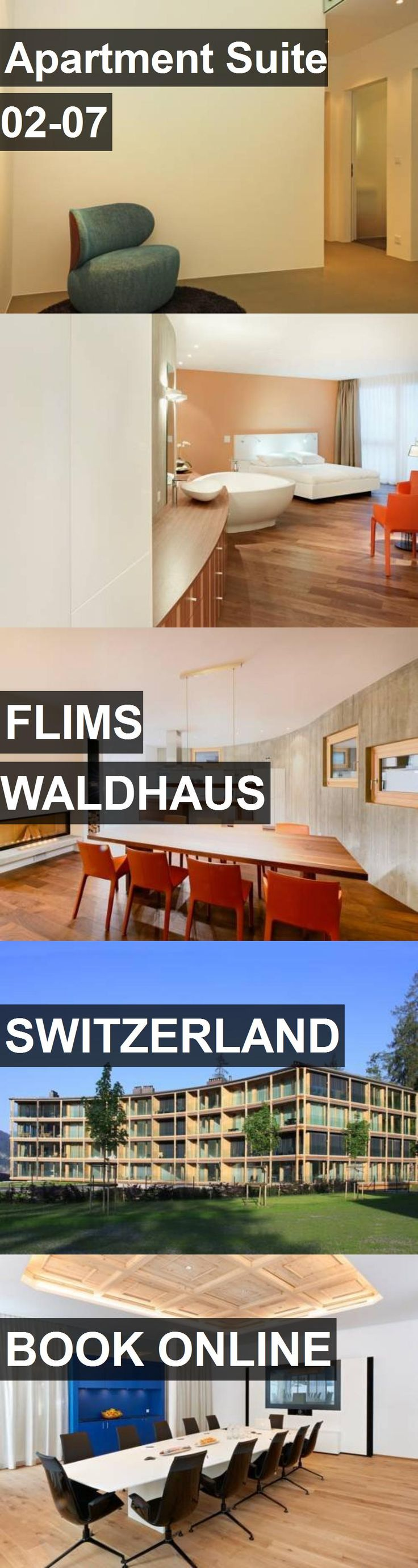 Apartment Suite 02-07 in Flims Waldhaus, Switzerland. For more information, photos, reviews and best prices please follow the link. #Switzerland #FlimsWaldhaus #travel #vacation #apartment