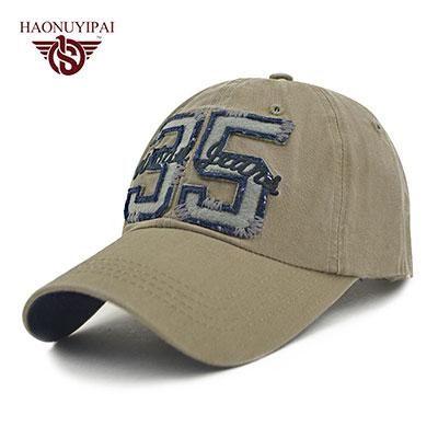 New Brand Letter 3 5 Summer Hats For Women Men Baseball Cap Travel Camping Ball Cap Polo Hat Men Visor Hip Hop Bonnet Gorro