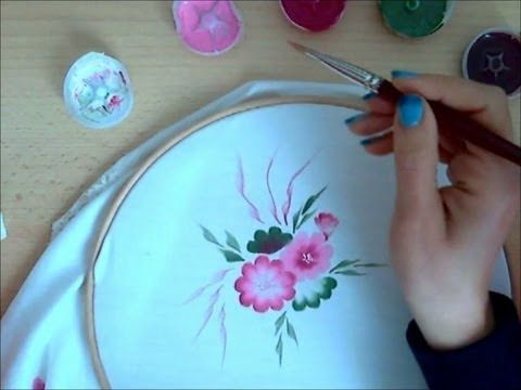 Come dipingere sulla stoffa. Corso per principianti.