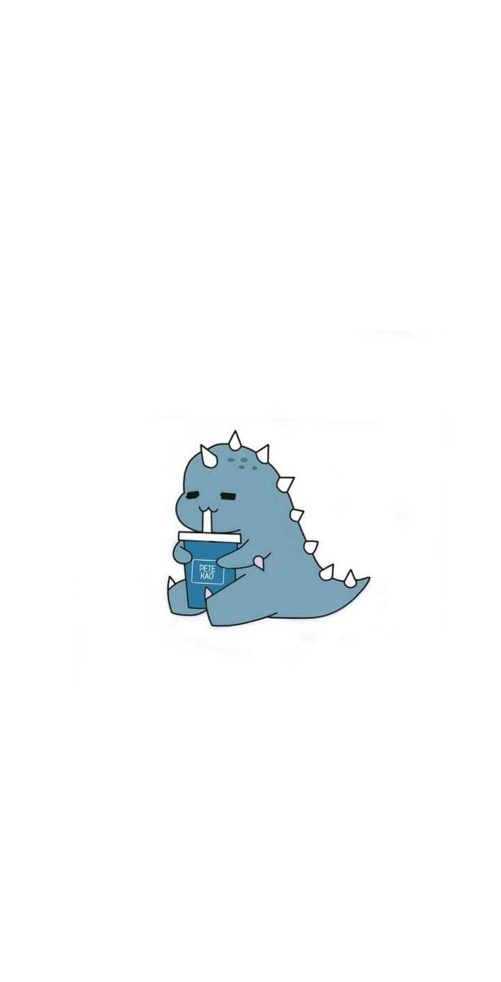 Cute Dino Baby One Piece By Hocapontas Cute Cartoon Wallpapers Cute Simple Wallpapers Cartoon Wallpaper Iphone