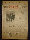 030776CR ALBERT DESALVO BOSTON STRANGLER ESCAPES FEBRUARY 24 1967 NEWSPAPER