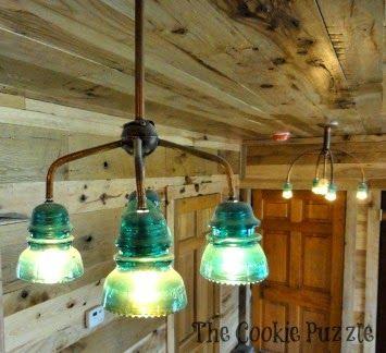 Glass Insulator Lights